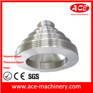 CNC Turning of Stainless Steel Plug Part pictures & photos