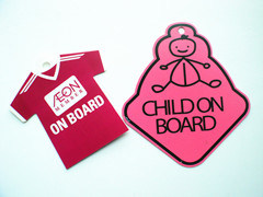 Baby on Board Sign, Car Window Sign, Plastic Car Sign