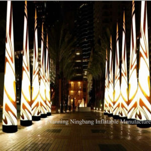 Hot Sale Customized Inflatable Advertising Pillar Cone with LED Light for Event