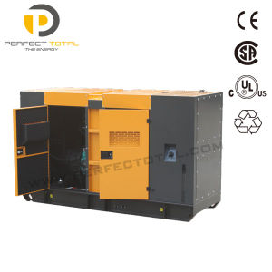 100kw Soundproof Diesel Engine Emergency Power Generator