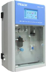 Series Chlorine Analyzer (DPD method) Measure at 0.01 ~0.05 Mg/L, Better Than The Sensor Type Chlorine Analyzer.