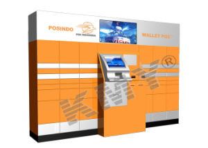 Free-Standing Touch Screen Self-Service Postal Payment Kiosk Purchase/Manufacturer pictures & photos