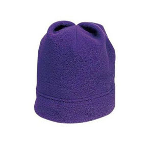 Warm Purple Winter Beanie Hat pictures & photos