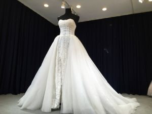 Detachable Train Wedding Gowns