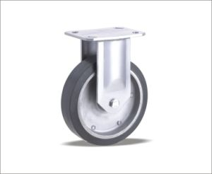 Rubber Medium Heavy Duty Ball Bearing Caster pictures & photos