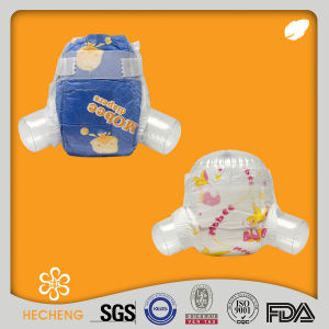 Wholesale Disposable Paper Printing China Sleepy Baby Diaper pictures & photos