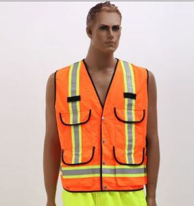 High Luster Safety Vest Made of Knitting Fabric with En pictures & photos