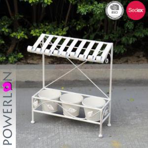 Pleasing Rustic Ormats Garden Metal 3 Pots Flower Planter Andrewgaddart Wooden Chair Designs For Living Room Andrewgaddartcom