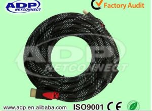 High Quality Molding HDMI 1.4 Cable for HDTV with Ethernet pictures & photos