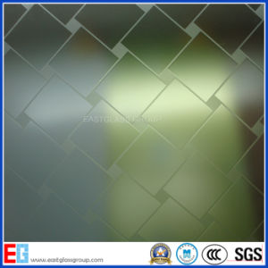 Acid Etched Pattern Glass/Frost Pattern Glass