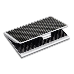 Hot Selling Carbon Fiber Card Covering Metal Bulk Business Card Credit Card Holder Case pictures & photos