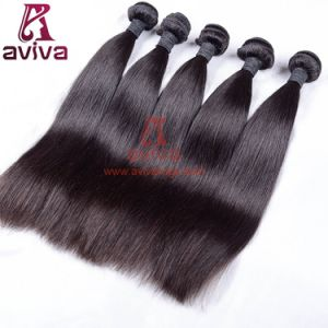 100% Human Hair Virgin Remy Brazilian Hair Extension Silky Straight