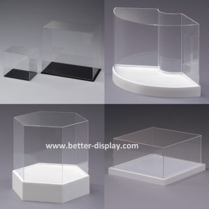 Custom Acrylic Monitor Speaker Box with Lock for Government (BTR-Y2008) pictures & photos