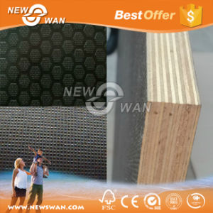 Linyi Hardwood Core 12mm 15mm 18mm Marine Plywood From China pictures & photos