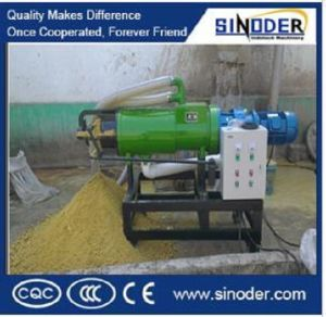 Chicken Feces Dewatering Machine/Pig Dungs Seperator/Sludge Liquid Solid separator pictures & photos