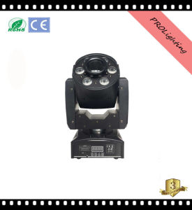 6 PCS 8W LED Moving Head Light Prolighting LED Mini Spot Wash