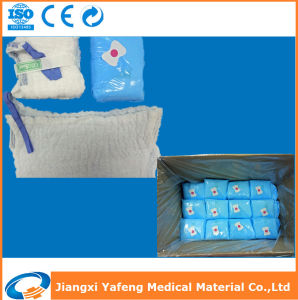 Medical Absorbent Sterile Lap Sponge Pad with Indicating Tape pictures & photos