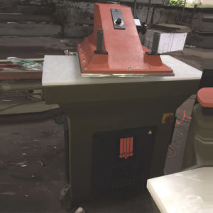 Used Original Italy Atom Hydraulic Swing Arms Leather Cutting Machine (SE16) pictures & photos