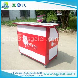 Hot Selling Mobile Portable Bar Counter With Wheels