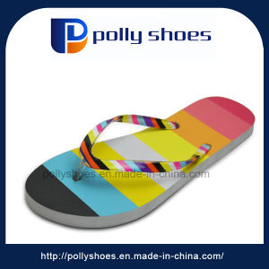 High Quality Latest Women Platform Flip Flop Slippers pictures & photos