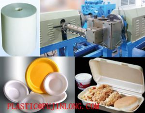 Polystyrene Foam Sheet Extrusion Machine, PS Foam Sheet Extrusion Line pictures & photos
