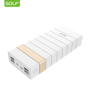 Best Battery Pack 24000 mAh Power Bank with 4 USB Port Portable Charger Ce  RoHS FCC