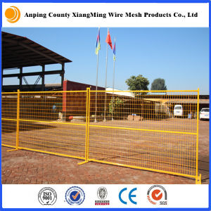 Anping Xiangming Red/Yellow/Orange Coated Temporary Mesh Fencing Construction Safety Fence pictures & photos