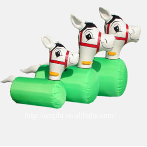 Funny Inflatable Pony Derby Racing Games Cheap on Sales