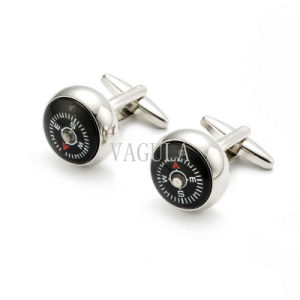 Brass Cufflinks Funny Compass Cuff Links 280 pictures & photos