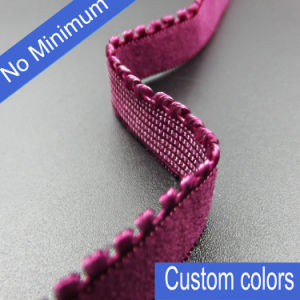 No Minimum Custom Colors Picot Bra Elastic in 11mm pictures & photos