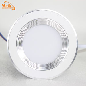 Three Dimming COB LED Retrofit Downlight for Living Room pictures & photos