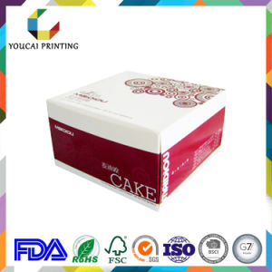 Square Recyclable Coated Cake Box Without Handle