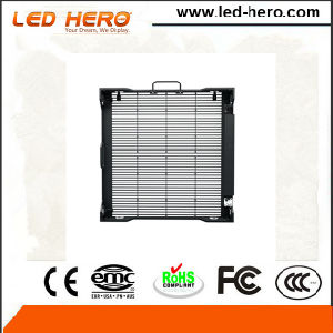 High Transparency P10.41mm Rental Transparent LED Display Indoor