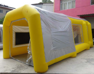 Portable Auto Inflatable Car Painting Booth Tent pictures & photos