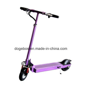 Easy Carry Folding Seated Kid LED Light Electric Scooter