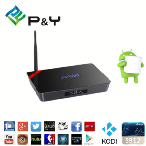 Amlogic S912 Android 6.0 TV Box Pendoo Kodi TV Box Pendoo Store X92 2g 16g pictures & photos