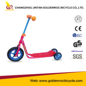 "(GL1002) High Quality 10""-6"" Kids Kick Scooter Steel Frame Kick Bike pictures & photos"