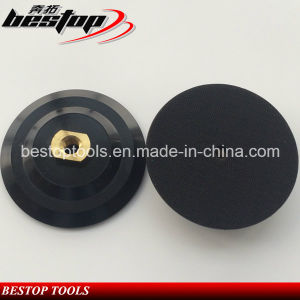 M14 Threaded 6 Inch 150mm Diamond Rubber Backer Pad pictures & photos