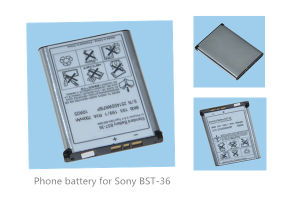 Cellphone Battery for Sony-Er Bst-36 J300c