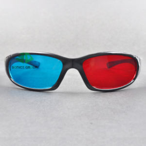 Plastic Cyan Red 3D Glasses (SN3D 027P)