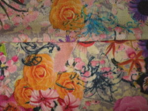 Wool Printing Jersey Knit Fabric pictures & photos