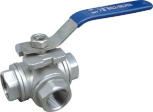 Stainless Steel Three-Way Ball Valve (TXB9)