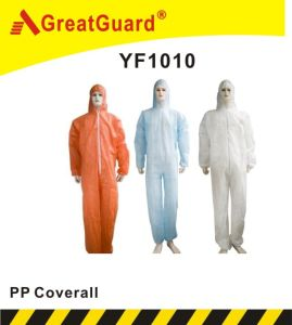 Disposable PP Coverall (CVA1010) pictures & photos