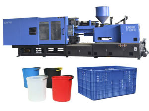 Servo Energy Saving Injection Molding Machine for Crates and Buckets pictures & photos