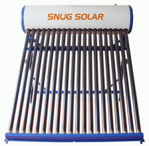 Compact Low Pressure Color Steel Solar Water Heater pictures & photos