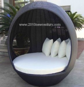 Garden Furniture/Outdoor Furniture/Rattan Furniture/Wicker Furniture Chaise Lounger (5003)