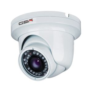 White Indoor Vandalproof Dome Camera-Dk20