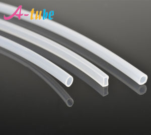 Bare Clear Fiber Optical Protection Shield Sleeve Tubing