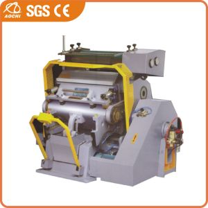 Die Cutting and Hot Foil Stamping Machine (TYMB-750) pictures & photos