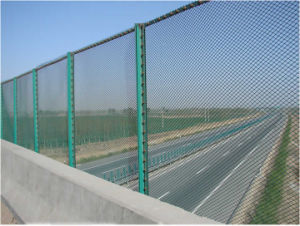 Powder Coated Wire Mesh Fencing